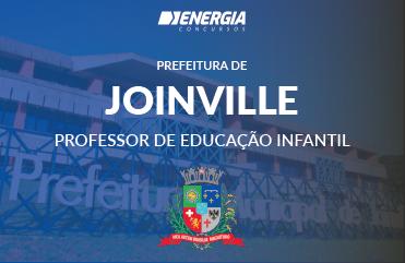 Prefeitura de Joinville - Professor de Educação Infantil