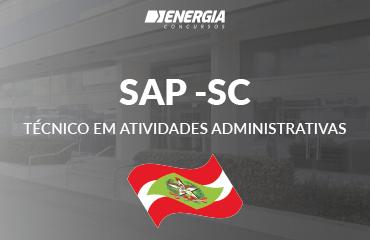 SAP - SC - Técnico em Atividades Administrativas