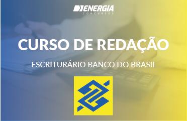 Curso de Redação - Escriturário Banco do Brasil