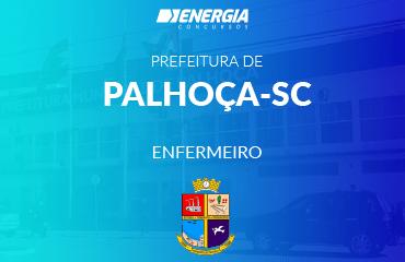 Prefeitura de Palhoça - Enfermeiro
